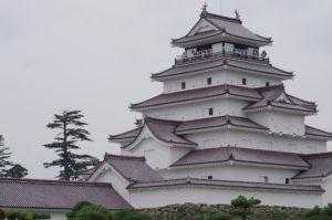 2011会津磐梯鶴ケ城塔のへつり07